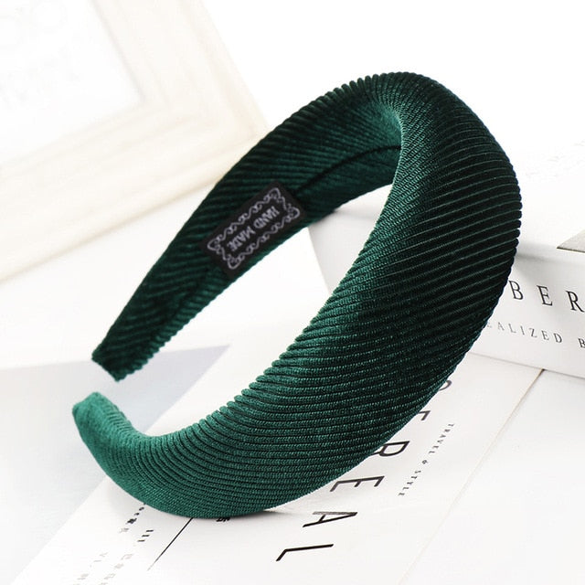 Velvet Headband (52 Colors)