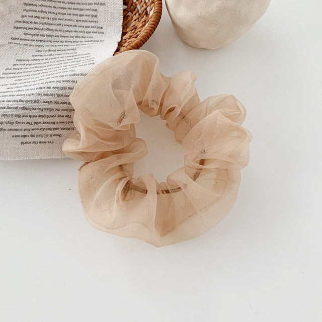 Organza Scrunchie (7 Colors)