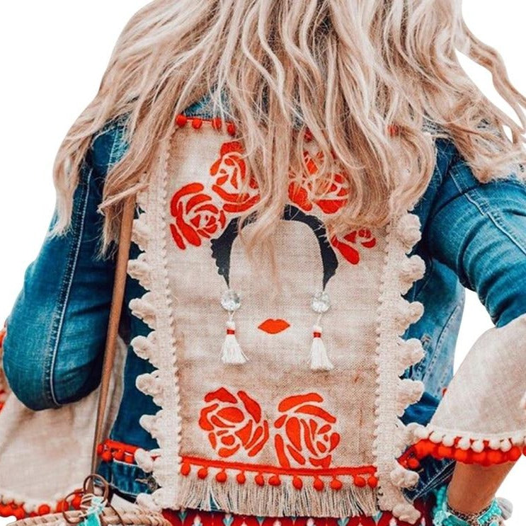 Bohemian Denim Jacket