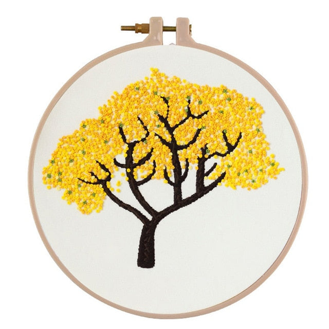 Nature Embroidery Starter Kit (7 Designs)