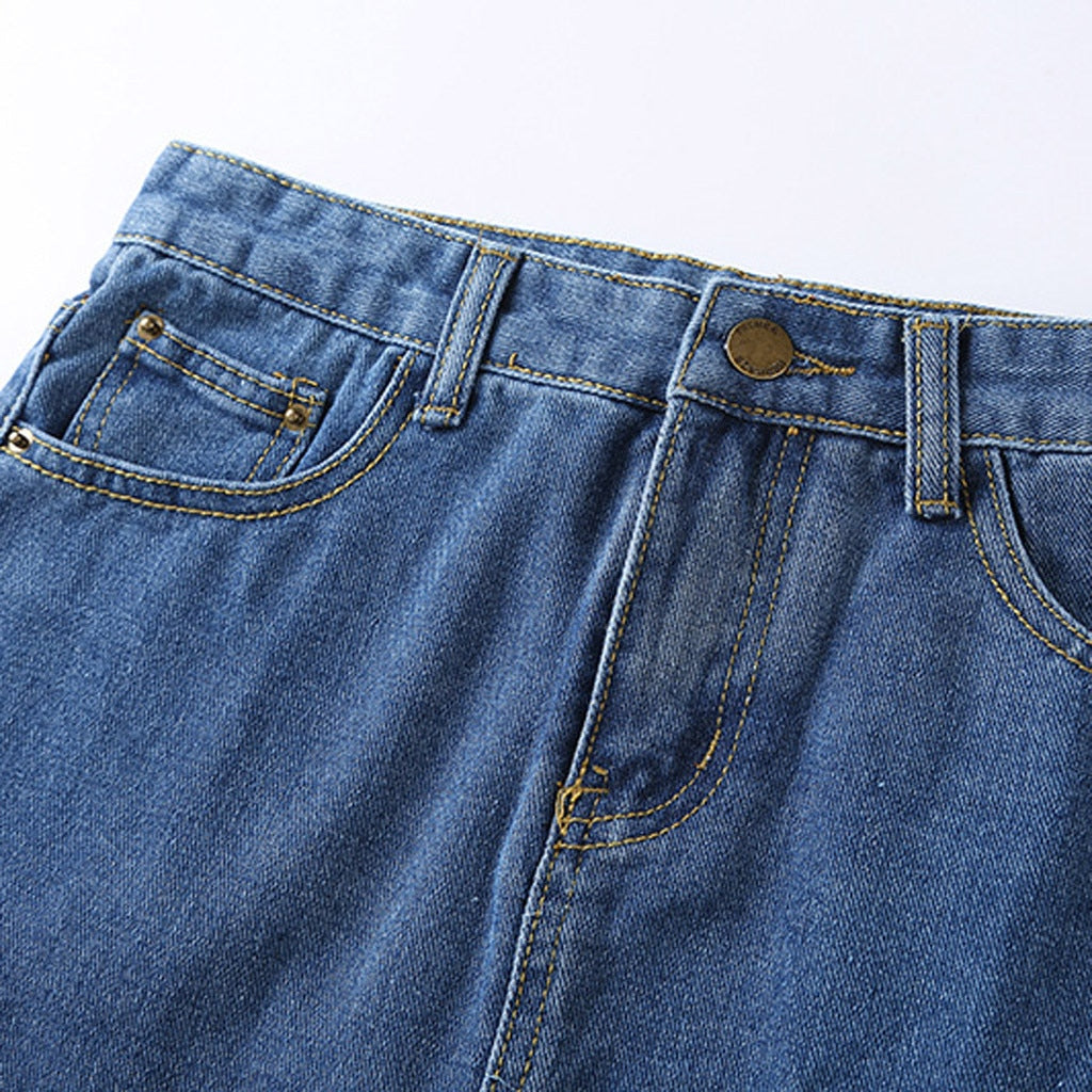 Denim Skirt (4 Colors)