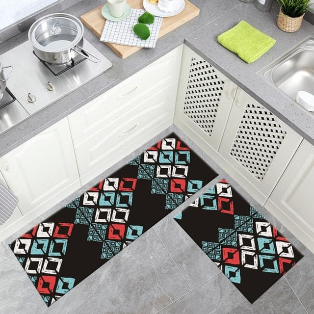 Geometric Kitchen Rug (6 Designs)