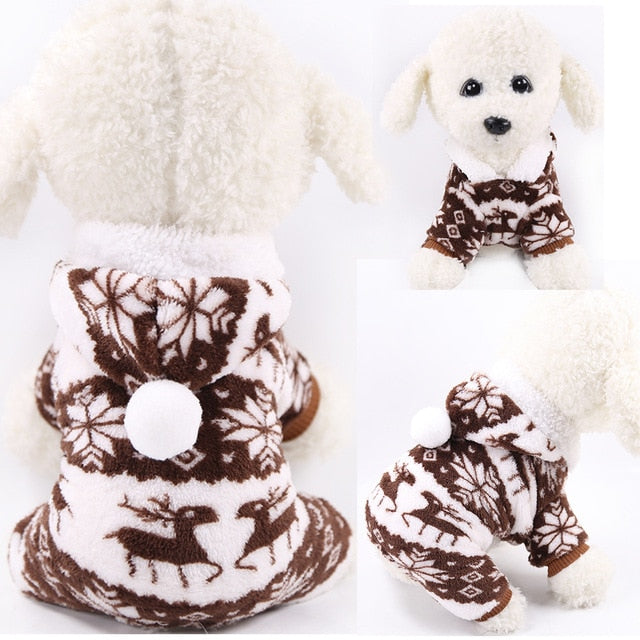 Flannel Dog Clothes (9 Designs)