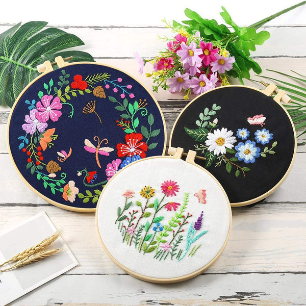Flower Embroidery Starter Kit