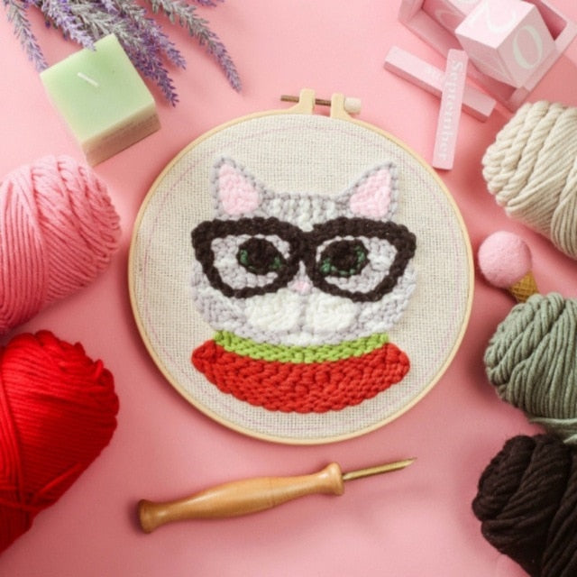 Embroidery Cross Stitch Kit (25 Designs)