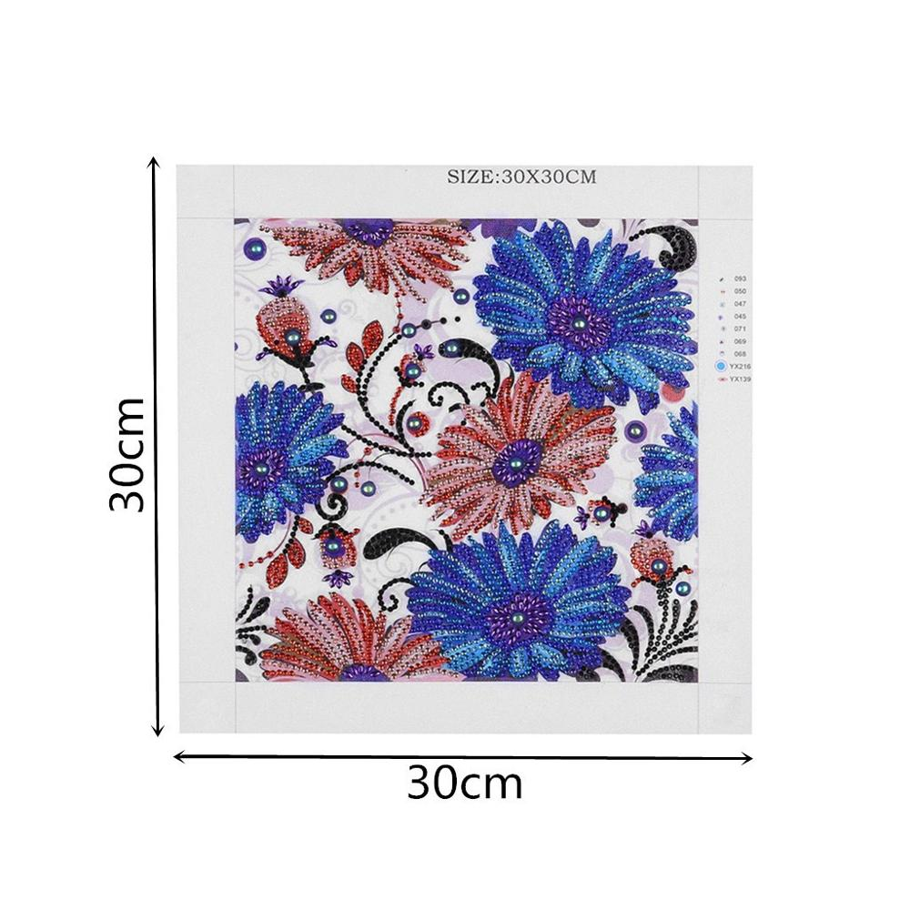 Floral Diamond Painting Pattern