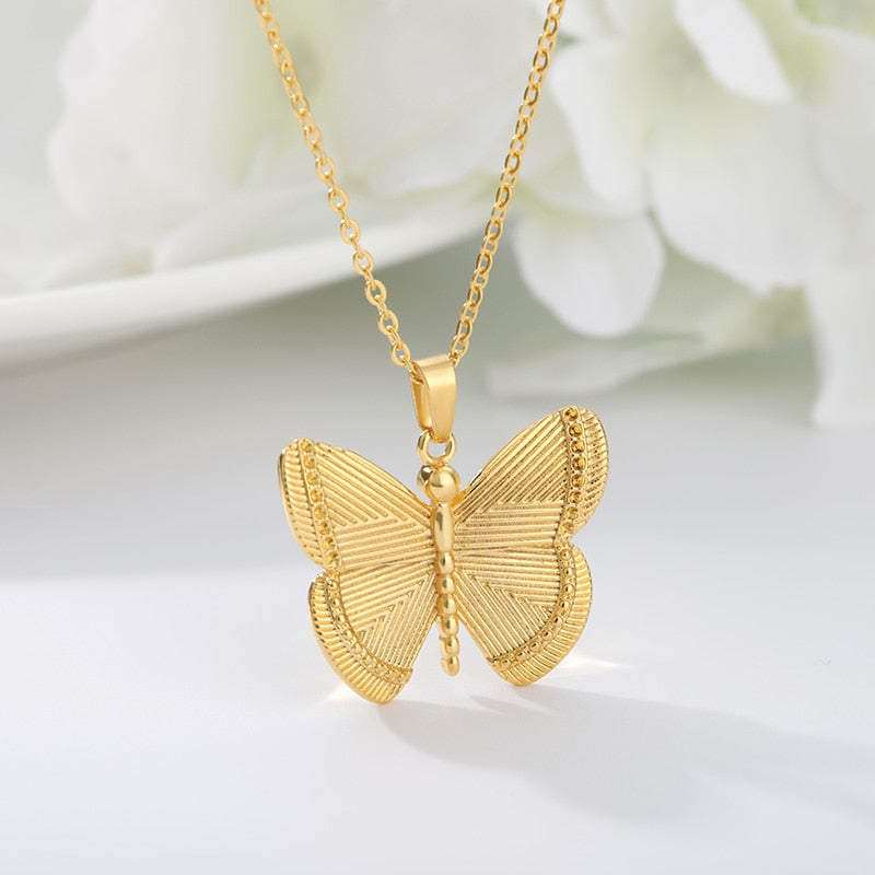 Butterfly Necklace (2 Colors)