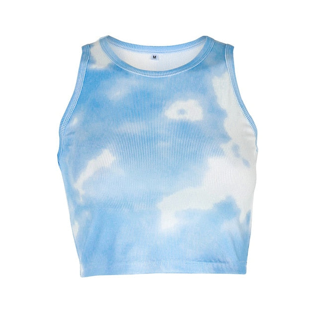 Tie Dye Crop Top (5 Designs)