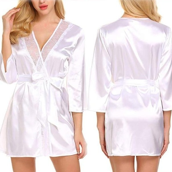 Silk Robe (4 Colors)