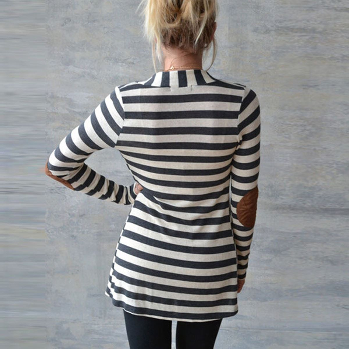 Stripe Cardigan Fem Things