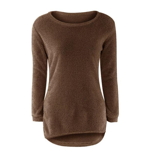 Solid Jumper Fem Things Coffee L