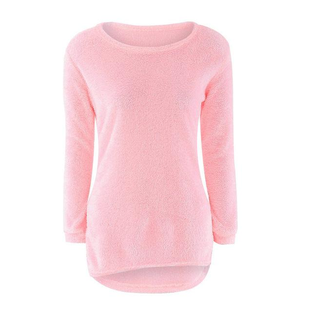 Solid Jumper Fem Things Pink L