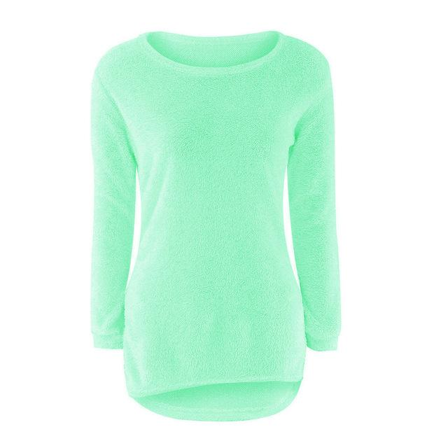 Solid Jumper Fem Things Green L