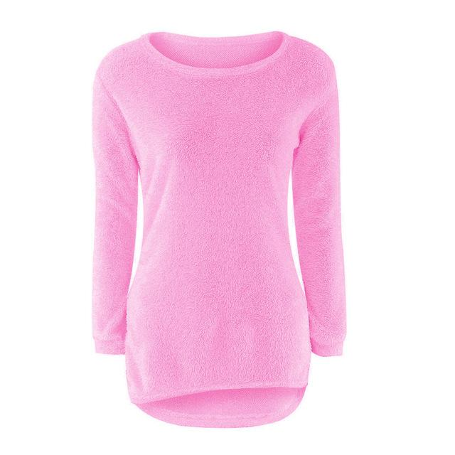 Solid Jumper Fem Things Hot Pink L