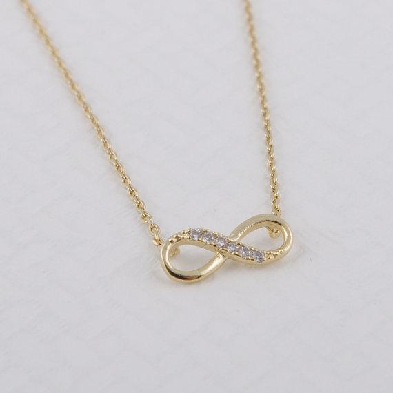 Infinity Necklace - Fem Things