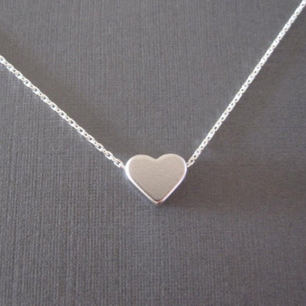 Tiny Heart Fem Things Silver Plated