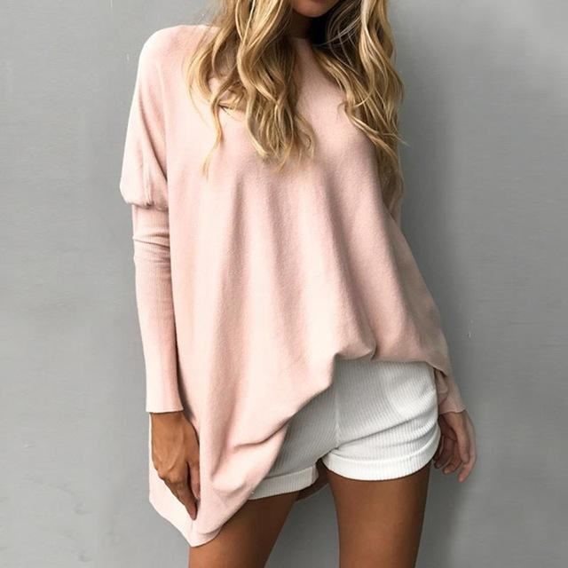 Long Sweater Fem Things Pink M