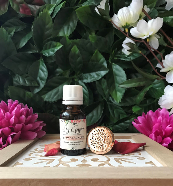 PERFECT PAIR - Car Diffuser and Essential Oil Blend