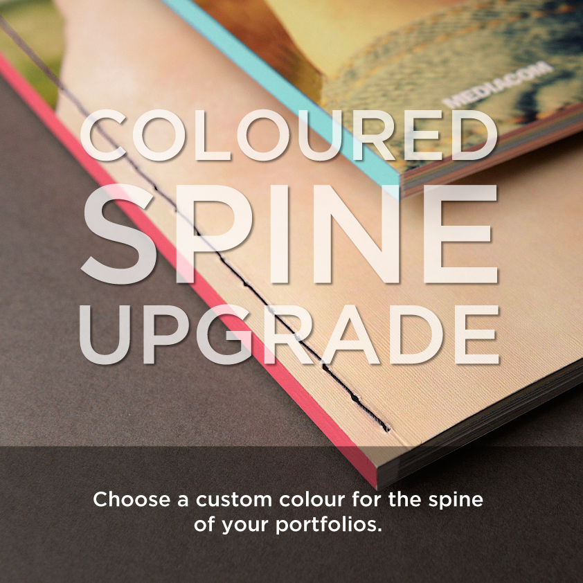 Coloured Spine - Portfolios