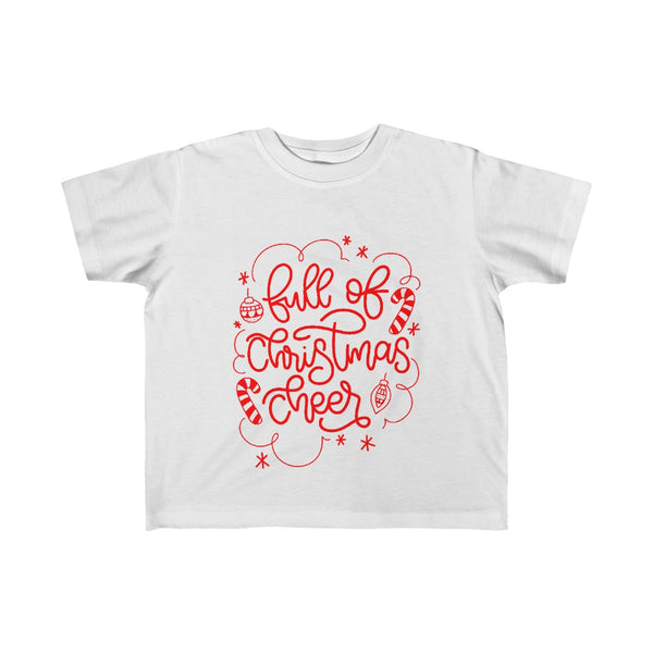 Full of Christmas Cheer Toddler/Kids Graphic Tee