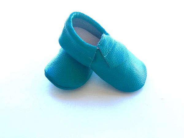 Baby Loafers - Blue