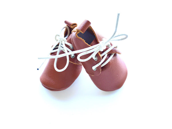 Baby Lace Up Oxford - Brown