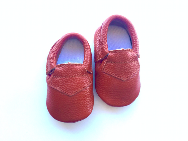 Baby Loafers - Brown