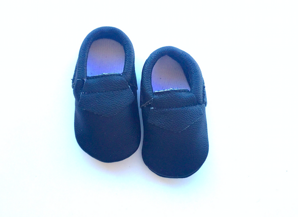 READY TO SHIP Baby Loafers - Black