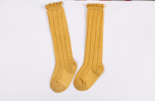 Baby/Toddler Mustard Knee High Socks