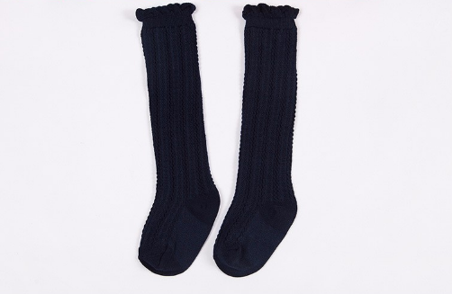 Baby/Toddler Navy Knee High Socks