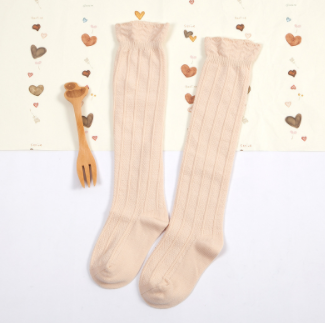 Baby/Toddler Apricot Knee High Socks
