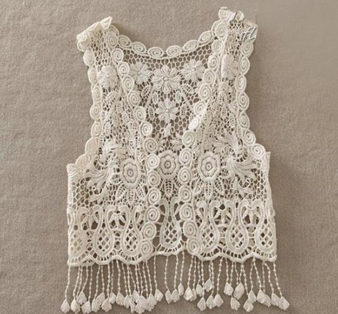 Baby/Toddler Lace Boho Vest
