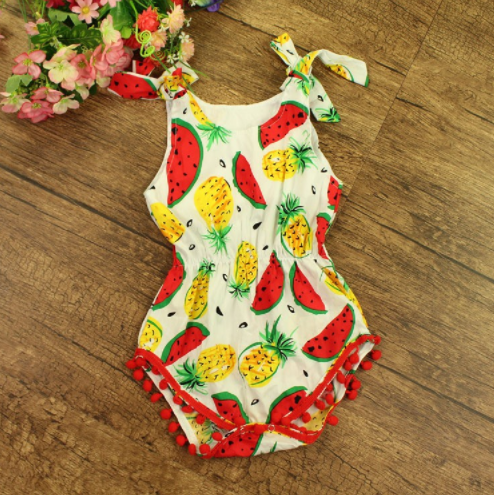 Baby/Toddler Fruit Romper