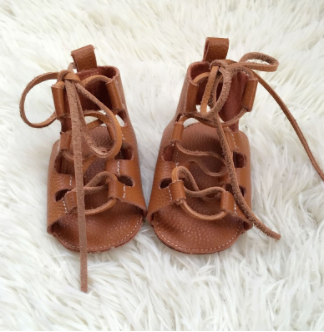 Baby Gladiator Sandals - Tan