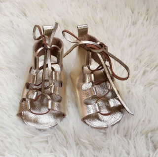 Baby Gladiator Sandals - Gold
