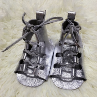 Baby Gladiator Sandals - Silver