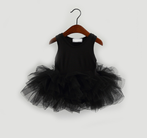 Baby/Toddler Black Tutu Dress