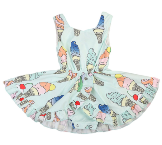 Baby/Toddler Ice Cream Dress