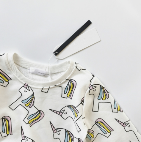 Baby/Kids Unicorn Sweatshirt
