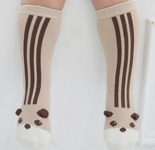 Baby/Toddler Brown Bear Knee High Socks