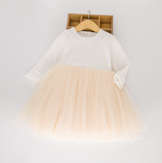 Toddler/Kids White Tulle Dress