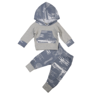 Baby/Toddler Airplane Hoodie/Pants