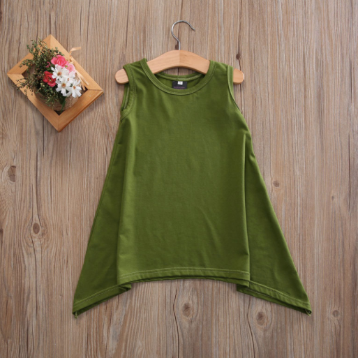 Baby/Toddler Olive A-Line Dress