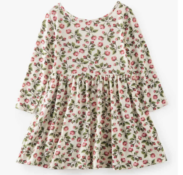 Baby/Toddler/Kids Floral Swing Dress
