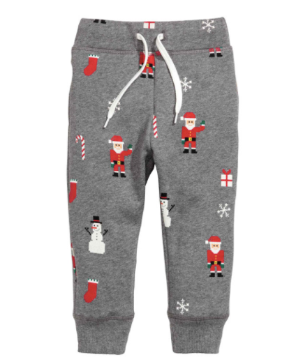 Baby/Toddler Holiday Jogger Pants