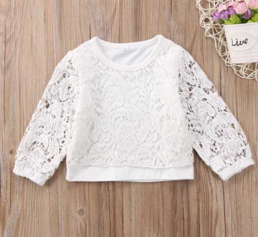 Baby/Toddler Lace Top