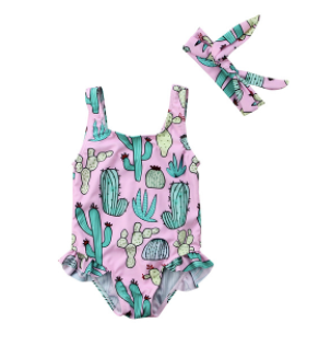 Baby/Toddler Cactus Swimsuit