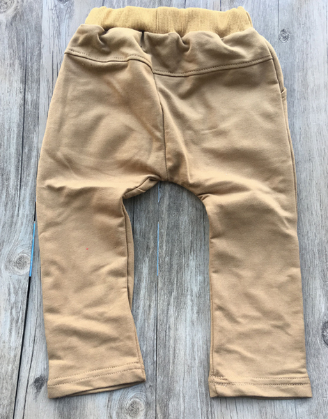 Baby/Toddler Khaki Button Harem Pants