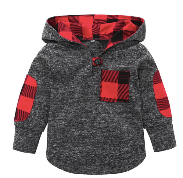 addd41779 Baby/Kids Buffalo Plaid Pullover
