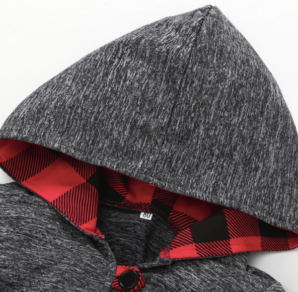 Baby/Kids Buffalo Plaid Pullover